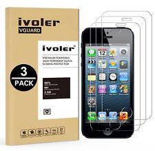 [3 Pack] Pellicola Vetro Temperato iPhone 5S / SE / 5 / 5c, iVoler ** (Y4h)
