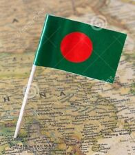 50 Bangladesh Flag Food Picks -  Cocktail Picks Tooth Picks 6.5 CM
