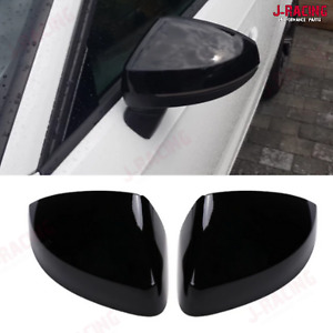 Gloss Black Style Side Mirror Cap Covers for Audi A3 S3 8V RS3 2013 - 2019