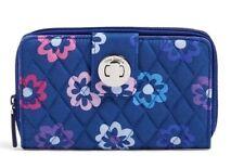 Vera Bradley Turn Lock Wallet Ellie Flowers Pattern 14442 I46 NEW