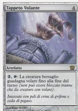 MAGIC MTG - TAPPETO VOLANTE -  RARA - ORO - ITALIANO - BORDO BIANCO