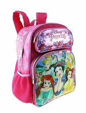 "2018 Disney Princess 16"" Shine Pink Color Large Backpack"