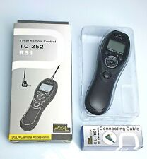 Pixel Timer Remote Control TC-252 RS1 for Panasonic