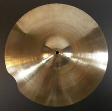 "18"" AA Zildjian US REPAIRED Crash Cymbal Vintage Approx 70s 1454 Grams SEE VIDEO"