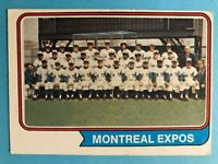1974 TOPPS Montreal Expos Team Card with Expos Records #508