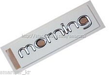 Tailgate morning emblem for 2011 2012 2013 2014 2015 KIA Morning / Picanto