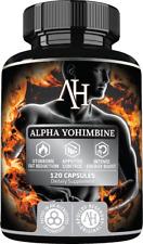 Apollo's Alpha Yohimb HCL Rauwolscine 3mg Fat Burner Sexual Wellness 120 Caps