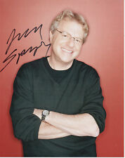 JERRY SPRINGER Signed 10x8 Photo THE JERRY SPRINGER SHOW COA