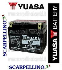 BATTERIA YUASA YT12A-BS PER CAGIVA RAPTOR 1000 cc TUTTI -BATTERY
