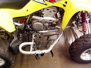 AC RACING AL. NERF BARS BLUE NETS for KAWASAKI KFX400 03-06 04-4525B
