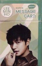 Lee Min Ho MinHo Photo Message Card 30 Pcs Korean Movie Memo Note Bookmark Actor