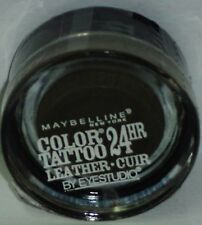 1 Maybelline Eye Studio Color Tatoo Leather Cuir 24hr Eye Shadow DEEP FOREST #85