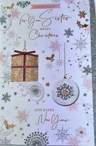 Especially for you Sister Christmas Card
