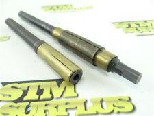 "Pair Of Brass Barrel Lapping Tools Flexolap Acro 1/2"" Shanks 5/8"" & 3/4"" Dia"