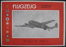 Flugzeug Plastik Modell - Siebel Si 204 D - 1:72 - Modellbausatz - Model KIT