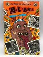 BLAB # 4, Book, Robert Crumb, Spain, Dan Clowes, Kitchen Sink 1989