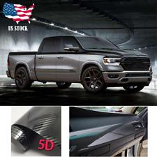 Car Body Sticker Dual Racing Stripe Decal Vinyl Black Accessories For RAM 1500