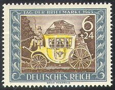 Germany 1943 Stamp Day/Mail-coach/Horses/Animals/Transport/Posts 1v (n41805)