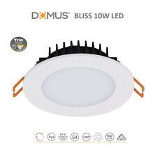 20 x Domus 20706 Bliss White Round 10W LED Downlight Tri Colour only $13.50ea