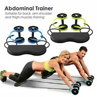 AbS Roller Wheel Core Exercise Strength Trainer Abdominal Fitness Slim Home Gym
