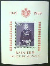 MONACO STAMPS MNH - Reign of Prince Rainier, 1989 - ** - SLANIA
