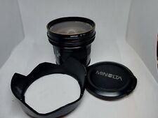 Minolta AF 20mm F2.8 A-Mount  lens