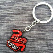 Riverdale Chock'lit Shoppe Key chain Metal Key rings Pendant Otaku Men Gift