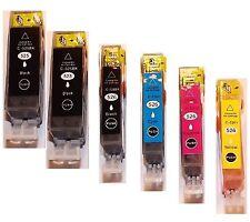 6 Druckerpatronen für Canon IP4850 IP4900 IP4950 MG5150 MG5250 MG5350 MG8150