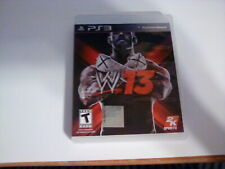 WWE '13 PS3 No Manual