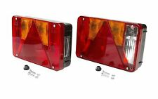 Radex 5800 Rückleuchten Satz für Anhänger Trailer Rechts und Links Rücklichter