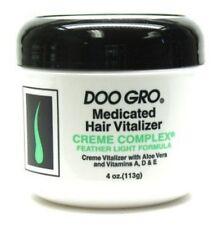 DOO GRO MEDICATED HAIR VITALIZER CREAM COMPLEX 4 OZ JAR