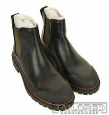NWB $395 - COACH Cedar Chelsea Black Leather Shoes Ankle Boots G1552 - Size 9.5