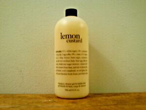 Philosophy Lemon Custardi Shampoo & Shower Gel (32 oz) Brand New & Sealed