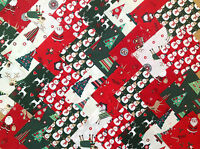 CHRISTMAS ~ COTTON FABRIC PATCHWORK SQUARES PIECES CHARM PACK CRAFT 2 4 5 INCH