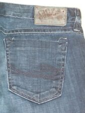 Chip & Pepper Tally Flare Jeans Mid Rise Dark Distressed Sz 29