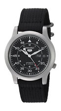 SEIKO SNK809 5 Black Dial Military Automatic Analogue Men's Watch
