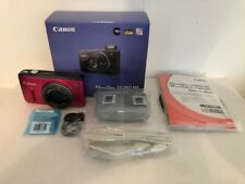 Canon PowerShot SX260 HS 12.1MP Digital Camera - Red