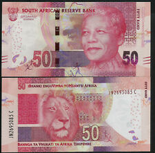 SOUTH AFRICA - P140 - 50 RAND - 2016 / 2017 (ND)  ISSUE  - UNC