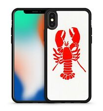 Ravishing Red Coloured Krab Ocean Sea Animals Pattern Fabulous Phone Case Cover