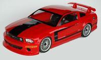 1:10 RC Clear Lexan Body Mustang GTR 200mm Nitro or Electric Colt fit Tamiya etc