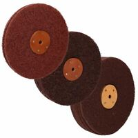 "8"" Fine / Medium / Coarse Scotchbrite Rust Paint Removal Polishing Mop"