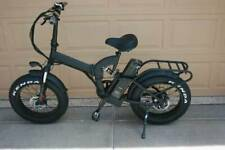 E Bicycle Full Suspension Bafang Fat Tire Folding 1000 Watt Electric Bike 48 Vt