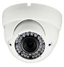 Night Vision TVI Sony 2.4 MP 2.8-12mm 3 MP Lens 36 LED 120 ft Range IR Cut IP66