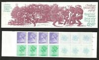 GB 1982 FX5 CHRISTMAS £2.50 FOLDED BOOKLET