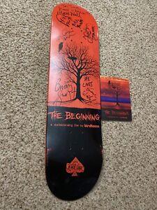 Birdhouse Vintage Skateboard Deck Rare AF The Beginning Signed By 6 Skaters