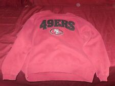 SF 49er Sweat Shirt San Francisco Jersey Red SIZE XL 14006