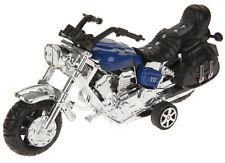 Motorbike Pull Back Chrome Chopper Style Bike Toy Kids Ideal Return Gift New