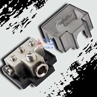 PLATINUM POWER GROUND DISTRIBUTION BLOCK 1/0 or 2 IN & 4/8 AWG GAUGE OUT MARINE
