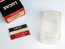 Genuine NOS Lucas L856 Clear LH Reversing Lens, for Triumph 2000 & 2500,54580172