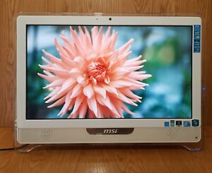 """MSI Full HD 1080p 21.5"""" inch All-in-One Touch Screen Full HD Windows 10 Pro HDMI"""